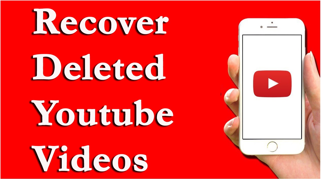 recover deleted youtube videos from channel