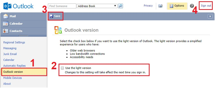 Update Outlook If You Are You Are Using Outdated Version